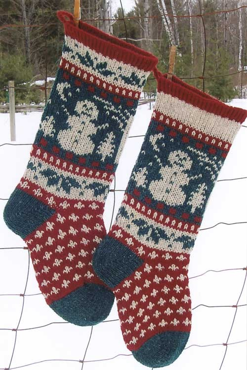 The best Christmas Stocking Knitting   pattern you can try