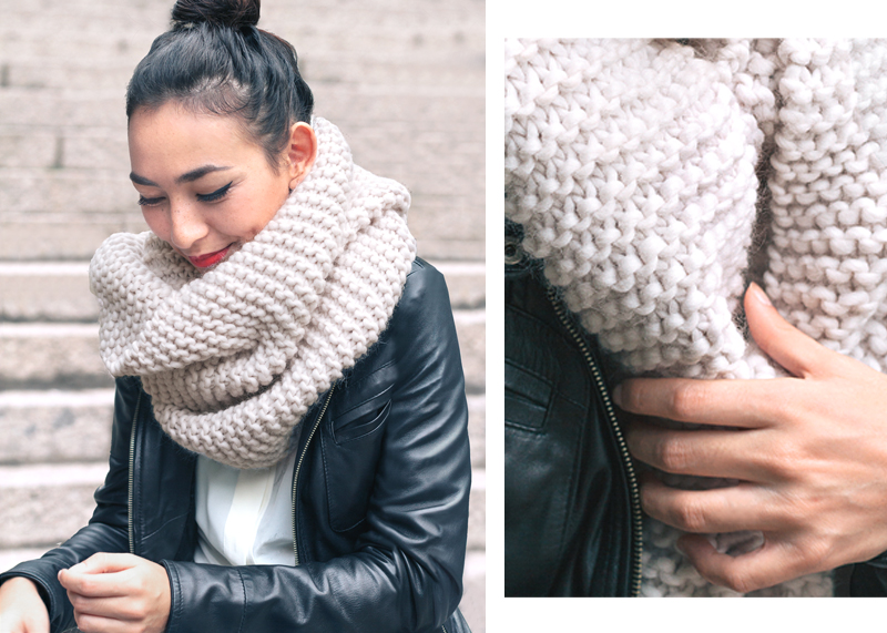 Style Trends: Chunky Knit Scarves - Sheep and Stitch