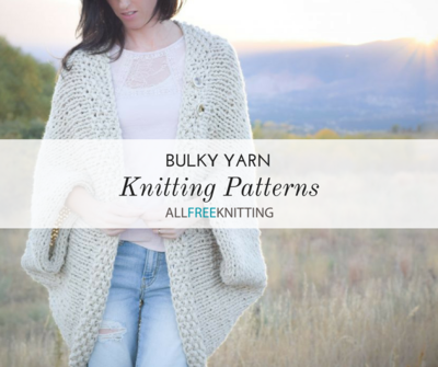 52 Bulky Yarn Knitting Patterns | AllFreeKnitting.com