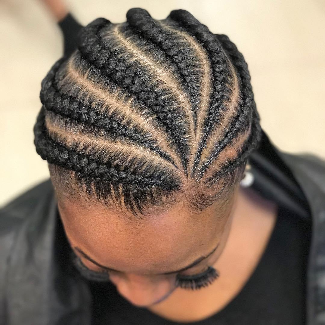 20 Super Hot Cornrow Braid Hairstyles