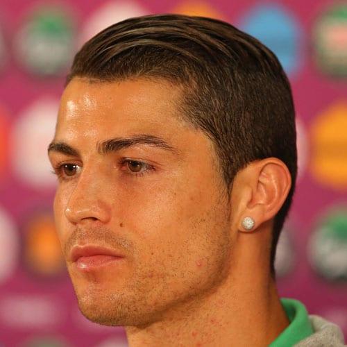 Cristiano Ronaldo Haircut   Men's Hairstyles + Haircuts 2019