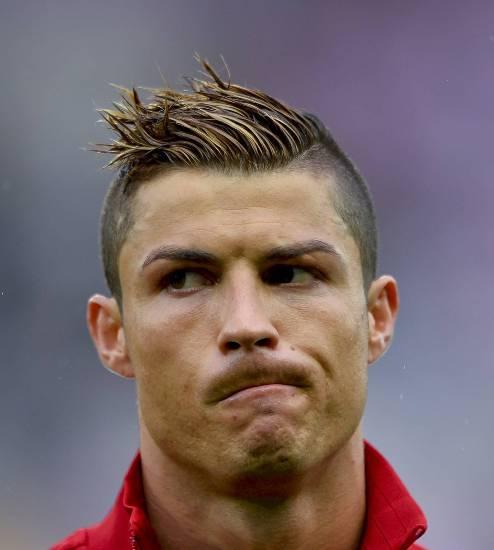 Top 9 Cristiano Ronaldo Hairstyles   Styles At Life