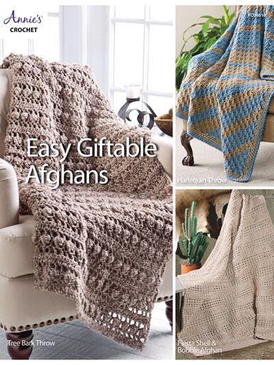 Assorted Afghan Books - Easy Giftable Afghans Crochet Pattern