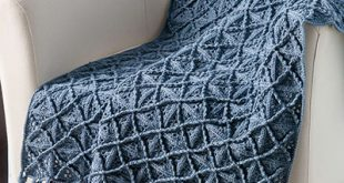 Crochet Afghan Patterns - Lattice Afghan Crochet Pattern