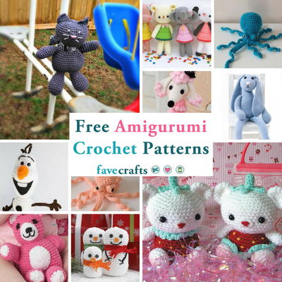 31 Free Amigurumi Crochet Patterns | FaveCrafts.com