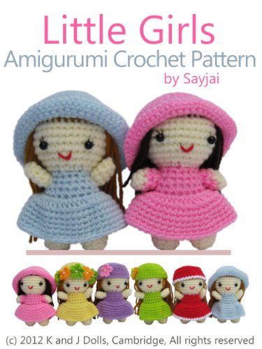 Amazon.com: Little Girls Amigurumi Crochet Pattern (Easy Crochet