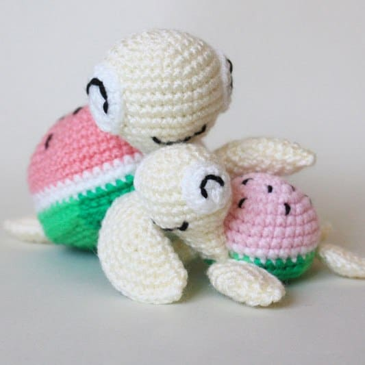Sweet and soft crochet amigurumi