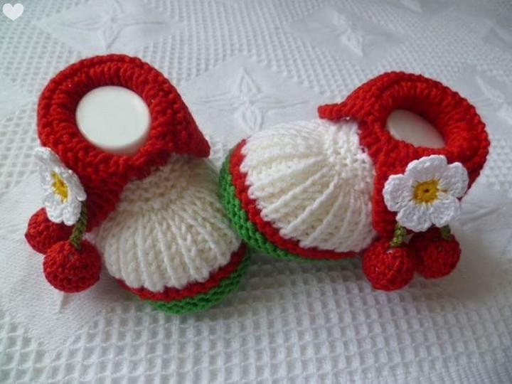 50 Crochet Baby Shoes Inspirations u2013 1001 Crochet
