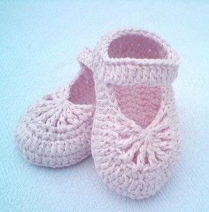 Free Pattern] Easy-To-Make Lovely Crochet Shoes For Baby Girl | girl