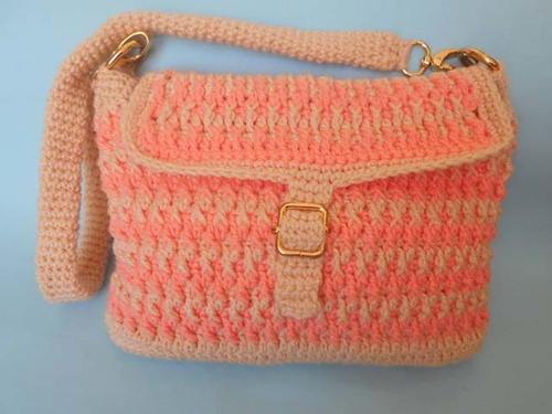 Handmade Crochet Bag | AllFreeCrochet.com