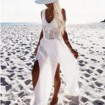 Crochet Beach Dress for relaxation