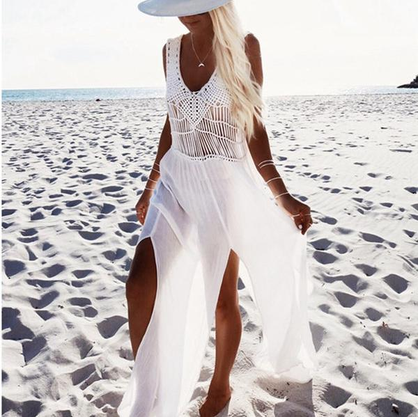 Crochet Beach Dress for relaxation