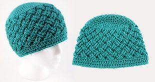 Celtic Dream Crochet Beanie Pattern | AllFreeCrochet.com