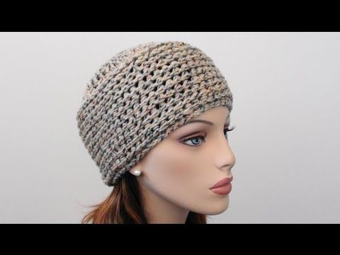 Crochet Beanie Hat by Crochet Hooks You - Simple & Easy (written