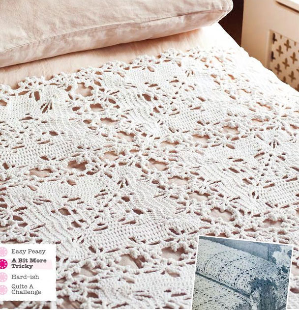 free crochet bedspread patterns Archives ⋆ Crochet Kingdom (2 free