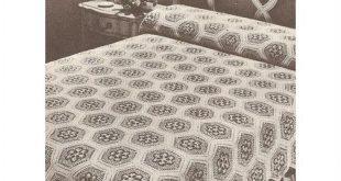 Crochet Bedspread Pattern Victorian Nosegay Bedspread on eBid