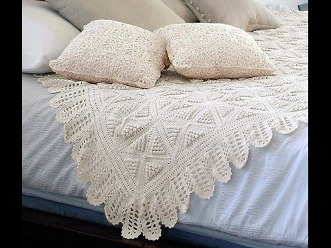 Crochet Patterns| for free |crochet bedspread| 1704 - YouTube