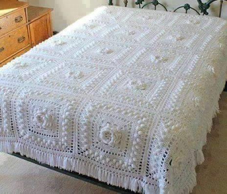 Crochet Bedspread Patterns - Beautiful Crochet Patterns and Knitting