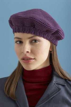 Simple Crochet Beret | Crochet ideas | Pinterest | Crochet