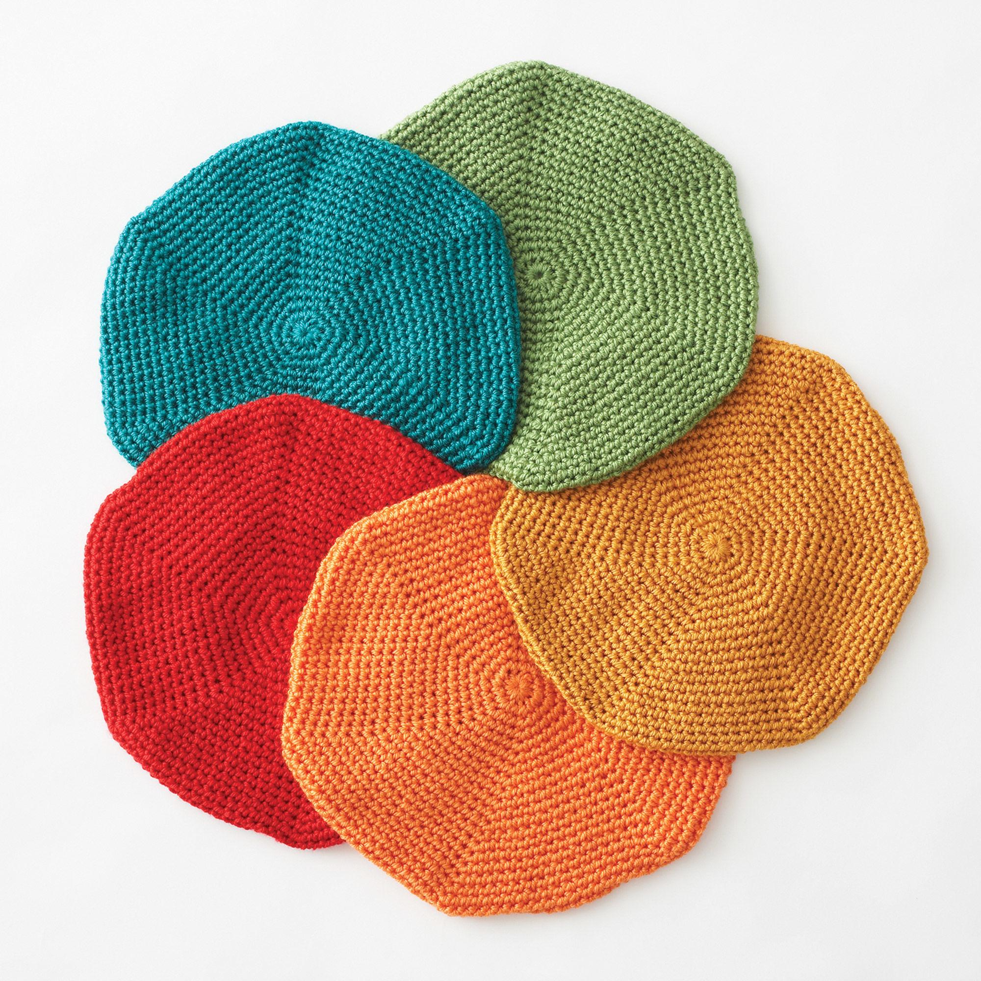 Bernat Classic Crochet Beret, Foliage | Yarnspirations