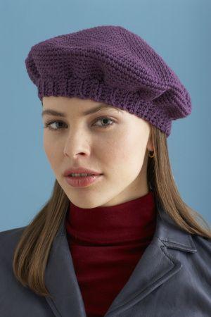 Simple Crochet Beret | Crochet ideas | Pinterest | Crochet