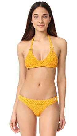 Stella McCartney Womens Crochet Bikini Set at Amazon Women's