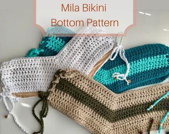 Crochet bikini pattern | Etsy