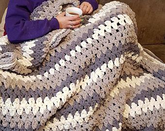 Crochet blanket | Etsy