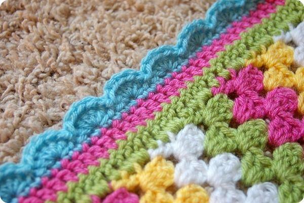 Crocheting the Day Away: Granny Stripe Blanket | Crochet - Blanket