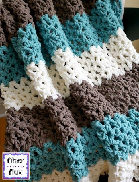 Free Crochet PatternFamily Room Throw! | Crochet | Blankets