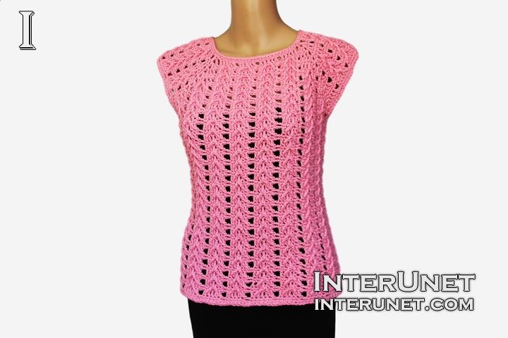 Blouse crochet pattern | interunet