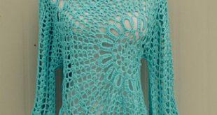 Crochet blouse   Etsy