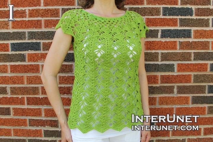 Crochet blouse | interunet