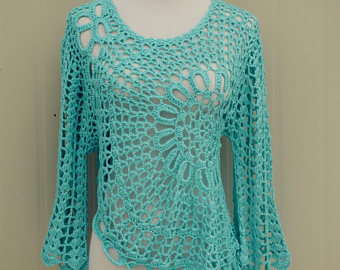 DIFFERENT BRANDS OF CROCHET BLOUSE