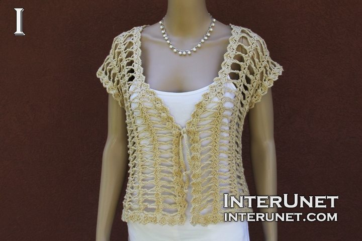 Crochet bolero jacket | interunet