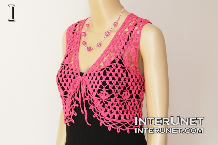 Crochet lace bolero | interunet