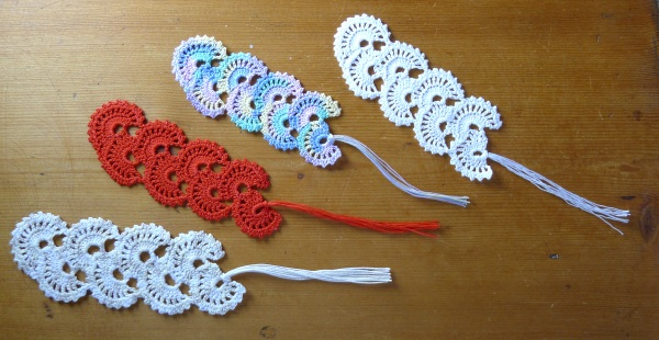 Crochet Bookmarks u2013 Rainbow Junkie