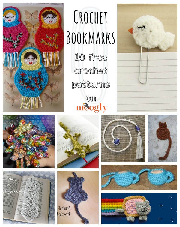 BEAUTIFUL CROCHET BOOKMARKS