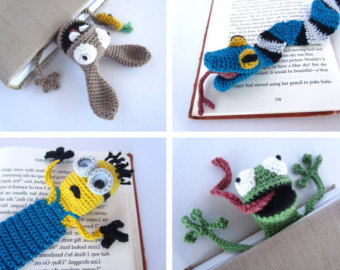 Crochet bookmark | Etsy