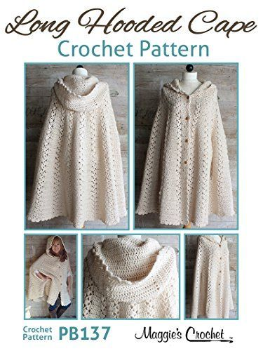 Hooded Cape Crochet Pattern Free You Will Love This Stunner | ABD