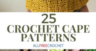 25 Crochet Cape Patterns (Free!) | AllFreeCrochet.com