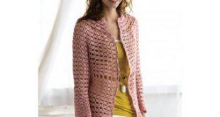 Pearl's Cardigan (Crochet) | Lion Brand Yarn