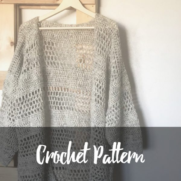 Hemlock Cardigan Crochet Pattern - Resources for Your Handmade Home