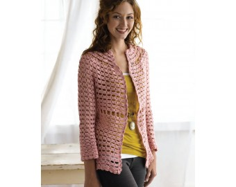 WIDE RANGE OF CROCHET CARDIGAN PATTERN