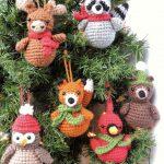 ADORABLE CROCHET CHRISTMAS ORNAMENTS