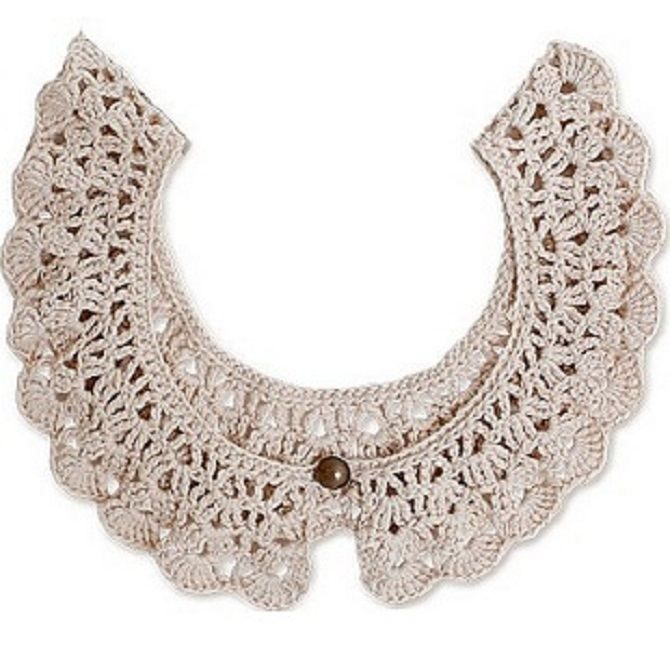 9 easy crocheted collar patterns free | Do it Yourself Crafts