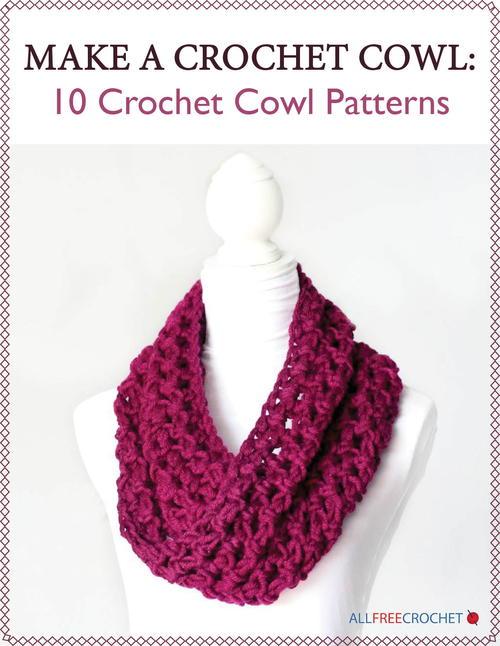 Make a Crochet Cowl: 10 Crochet Cowl Patterns | AllFreeCrochet.com