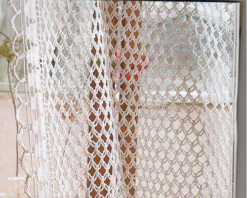 Crochet Window Curtain Patterns   Curtains Decoration IDEAS   Drapes
