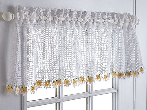 10 Beautiful Free Crochet Curtain Patterns u2013 Crochet Patterns, How