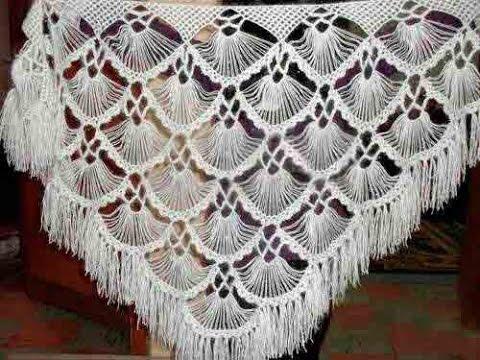 Crochet shawl| Free |Simplicity Patterns|152 - YouTube